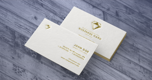 Business Card, Plastic Business Card