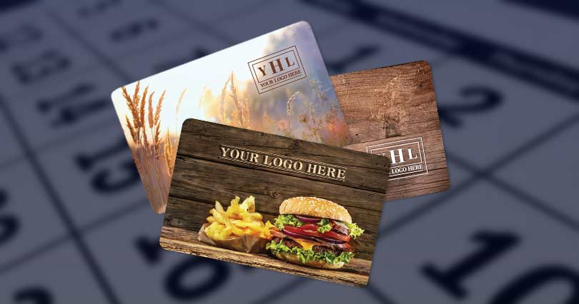 Plastic Custom Gift Cards, Custom Gift Cards
