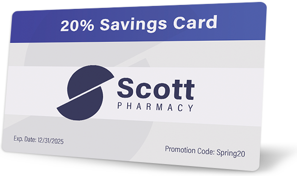 Custom Plastic Coupon Card Example on Recycled Material