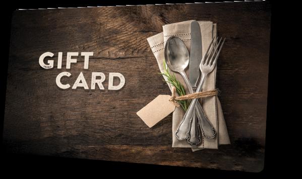 Custom Gift Card Example