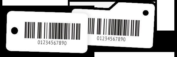 Barcoded Key Tags