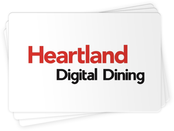 Heartland Digital Dining Compatible Gift Cards