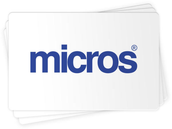 MICROS Compatible Gift Cards