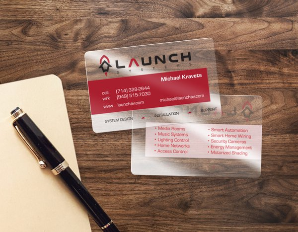 Custom Plastic Business Cards