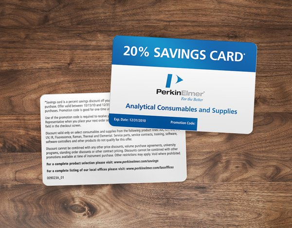 Plastic Discount Cards