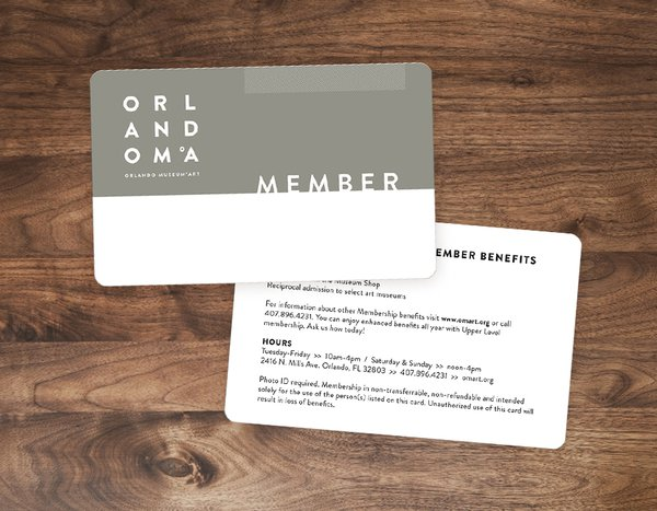 Custom Plastic Membership Cards