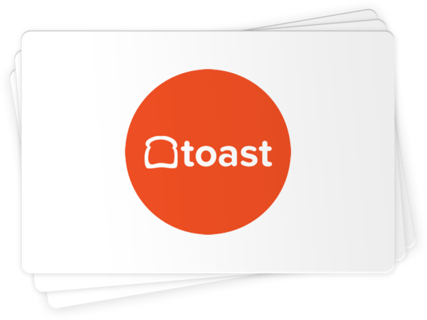 Toast Compatible Gift Cards